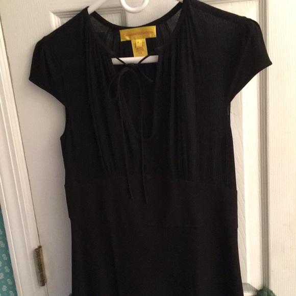 Catherine Malandrino Dresses & Skirts - Catherine Malandrino Black Dress, Size 6